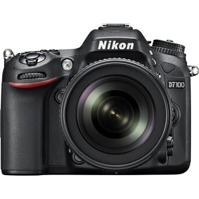 D7100 DX-format Black Digital SLR Camera Kit with 18-140mm VR Lens