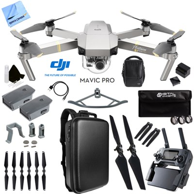 DJI Mavic Pro Platinum Quadcopter Drone w/ 4K Camera + Wi-Fi Fly More Ultra Kit