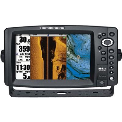 999ci HD SI 8` Color Temp/ GPS and Sonar Combo Fish Finder