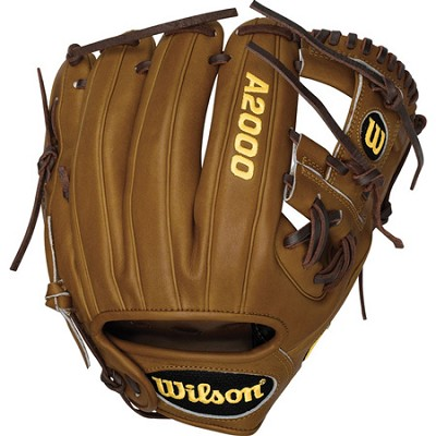 A2000 DP15 D. Pedroia Game Model Fielder Glove - Right Hand Throw - Size 11.5`