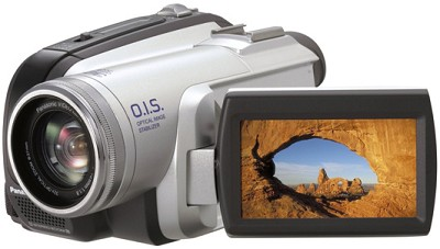 PV-GS80 Ultra-Compact Mini-DV Camcorder 32x Optical, Image Stabilizer, 2.7` LCD
