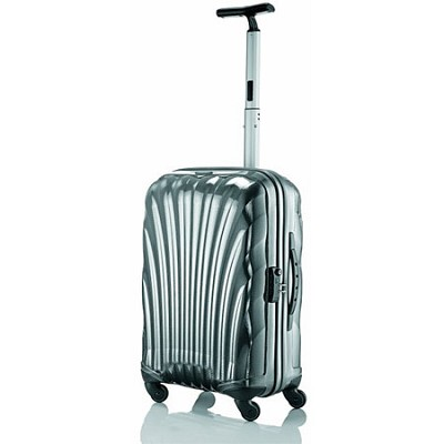 Black Label Cosmolite Hardside 20` Silver Carry On Spinner Suitcase