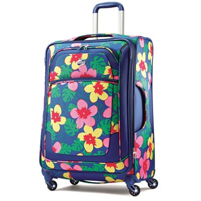 iLite Xtreme Luggage 29` Spinner - Navy Floral - OPEN BOX