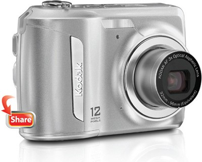 EasyShare C143 12MP 2.7 inch LCD Digital Camera - Silver