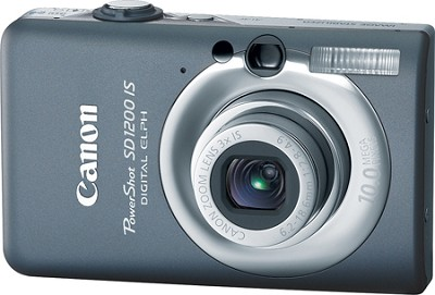Powershot SD1200 IS 10MP Digital ELPH Camera (Dark Gray)