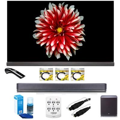 65` Signature OLED TV 4K HDR Smart OLED65G7P with LG SJ9 Sound Bar Bundle