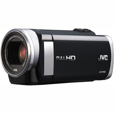 GZ-E200BUS - HD Everio Camcorder f1.8 40x Zoom 3.0` Touchscreen (Black)