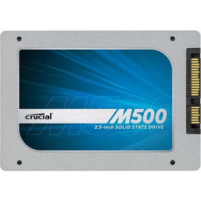 480GB M500 SATA 6Gbps 2.5` 7mm - Internal Solid State Drive-SSD (CT480M500SSD1)