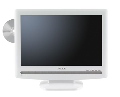 19LV506 - 19`  High-definition LCD TV w/ built-in DVD Player (Hi Gloss White)