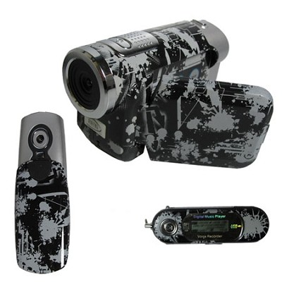 Ultimate Digital Kit- MP3 player, 3 in 1 Camcorder, Digital Camera