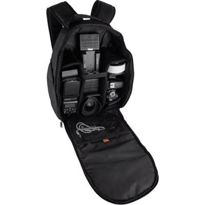 Large Photo/Video Backpack for DSLR Camera, Lens and Accessories (Black) VIVDC15