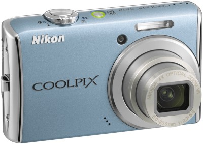 COOLPIX S620 Digital Camera (Sky Blue)