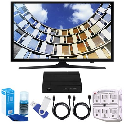 UN40M5300 40` LED 1080p 5 Series Smart TV (2017 Model) w/ TV Tuner Bundle