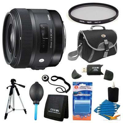 30mm F1.4 ART DC HSM Lens for Canon Filter Bundle