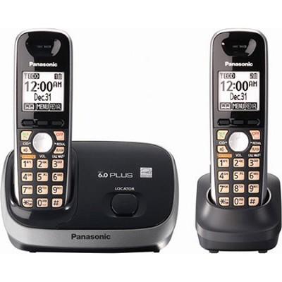 KX-TG6512B DECT 6.0 PLUS Expandable Digital Cordless Phone