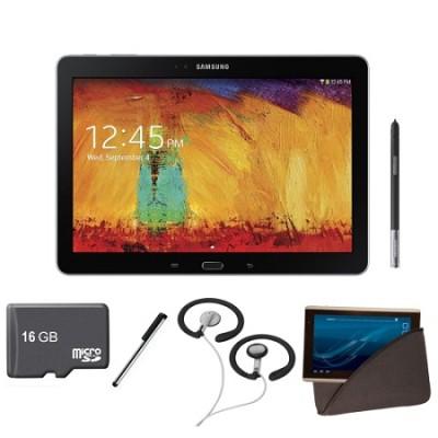 10.1 inch Galaxy Note Tablet 16GB WiFi Black Bundle 2014