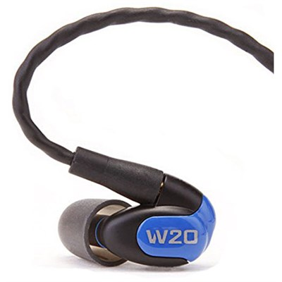W20 Dual Driver Noise Isolating Earphones In-Ear Monitors - 78502