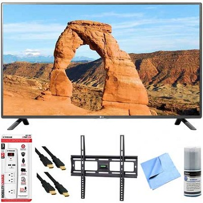 50LF6000 - 50-Inch Full HD 1080p 120Hz LED HDTV Plus Mount & Hook-Up Bundle