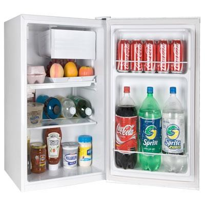 2.7 Cubic Feet Refrigerator Freezer in White - HC27SF22RW