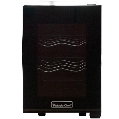 6-Bottle Thermoelectric Wine Cooler in Black - MCWC6B