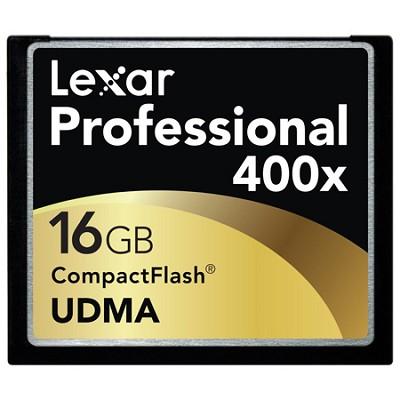 Professional 400x Compact Flash 16 GB Memory Card