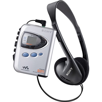 WM-FX290W Walkman Digital Tuning Weather FM/AM Stereo Cassette Player
