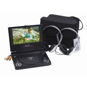 D1788PK 7 inch Portable DVD Player Kit