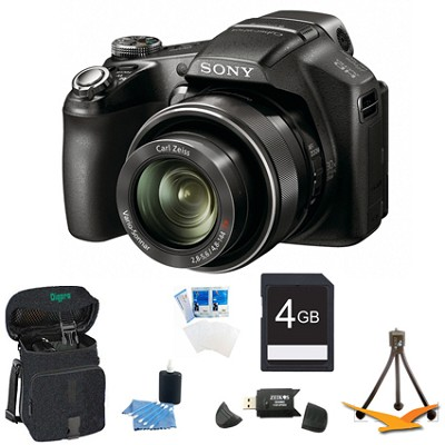 Cyber-shot DSC-HX100V Digital Camera 4GB Bundle