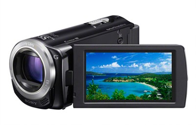 HDR-CX260V HD Camcorder 16GB 30x Opt. Zoom Geotagging (Black) - OPEN BOX