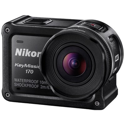 KeyMission 170 4K Ultra HD Action Camera with Built-In Wi-Fi