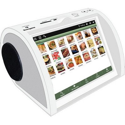 NetChef Networked Kitchen Recipe Device with 8` LCD Screen