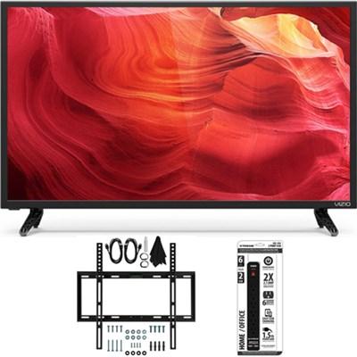 E32h-D1 - 32-Inch SmartCast E-Series LED 720p HDTV Slim Flat Wall Mount Bundle