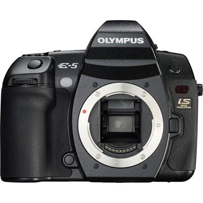 E-5 12.3 Megapixel Four-Thirds Digital SLR Camera Body