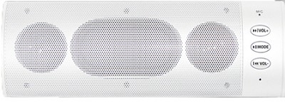 Wireless Bluetooth Stereo Speaker (White)