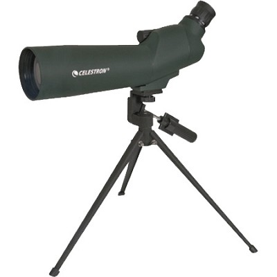 20-60x60 mm Zoom Angled Spotting Scope - 52223