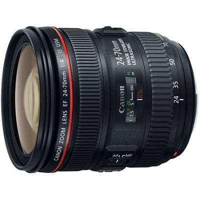 EF 24-70mm F/4L IS USM Standard Zoom Lens (6313B002) - OPEN BOX