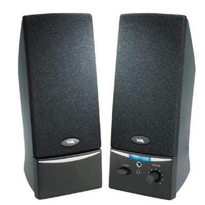 Two Piece Amplified Computer Speaker System (CA-2012)