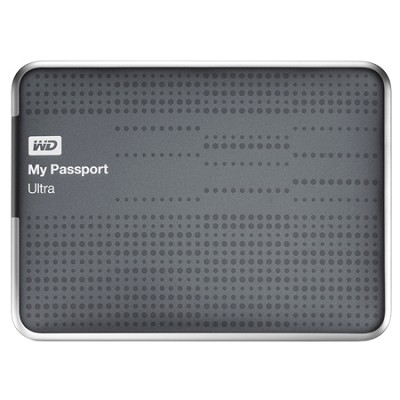 My Passport Ultra 2 TB USB 3.0 Portable Hard Drive - WDBMWV0020BTT (Titanium)