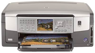 Photosmart C7180 All-in-one Printer, Fax, Copy, and Scan