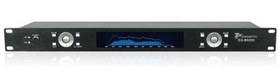 Dual 10 Band Graphic Equalizer with Matrix Display (Black)