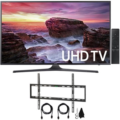 UN55MU6290 55` 4K Ultra HD Smart LED TV (2017 Model) with Wall Mount Kit