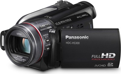HDC-HS300K Hi-Def Camcorder w/ 120GB HDD (Black)