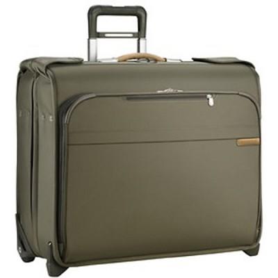 Baseline Deluxe Wheeled Garment Bag - Olive (U176-7)