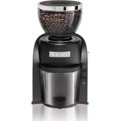 Conical Burr Coffee Grinder with Grind Size and Cup Selection