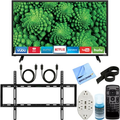 D32-D1 D-Series 32` Full Array LED Smart TV + Ultimate Wall Mount Accessory Kit