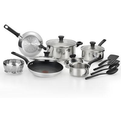 14-Piece Excite Stainless Steel Cookware Set - C911SE74