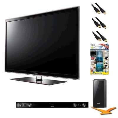 UN55D6000 55 inch 1080p 120hz LED HDTV with HW-D550 - Home Theater Bundle