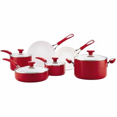 Silverstone 12pc Ceramic Red