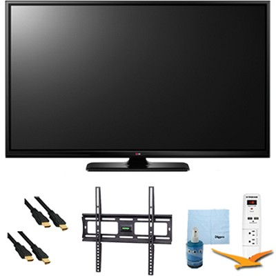 50` Plasma 1080p 600Hz Smart HDTV Plus Mount & Hook-Up Bundle (50PB6600)