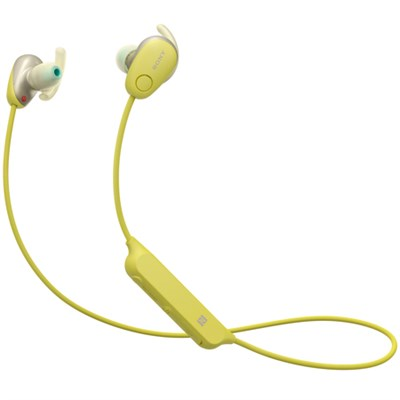 WI-SP600N Wireless In-Ear Sport Headphones w/ Bluetooth - Yellow (WISP600N/Y)